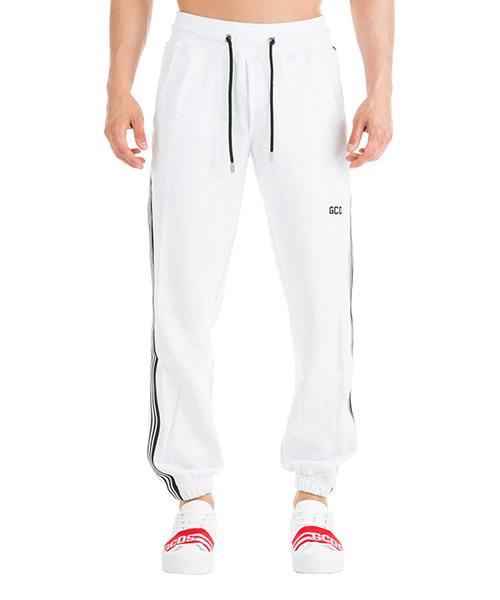 Pantalones deportivos GCDS CC94U030036-01 bianco
