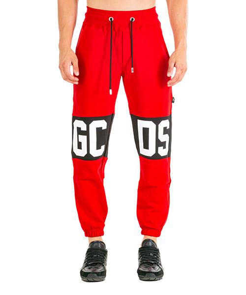 Спортивные брюки GCDS Logo CC94U030037-03 rosso