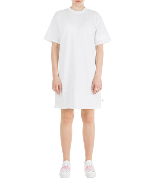 Короткое мини-платье GCDS CC94W020076-01 bianco