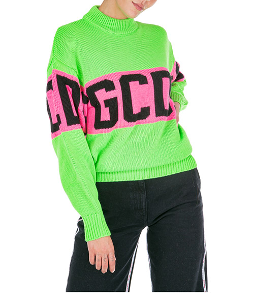 Maglione GCDS colorful cc94w020218-05 green