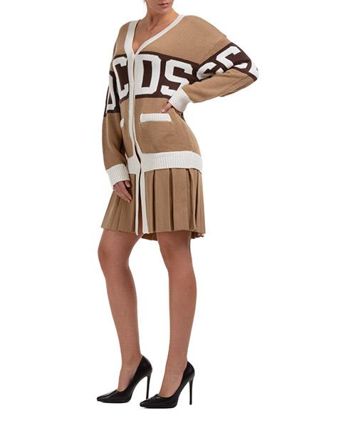 Vestidos cortos GCDS logo CC94W020300-14 marrone