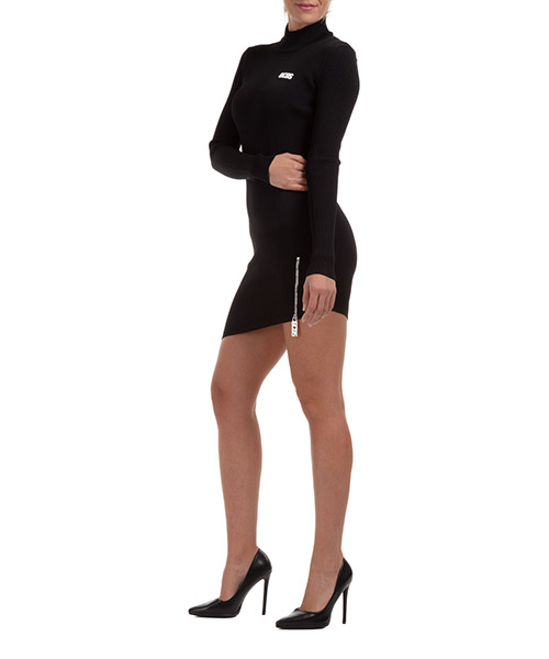 Mini dress GCDS CC94W020301-02 nero
