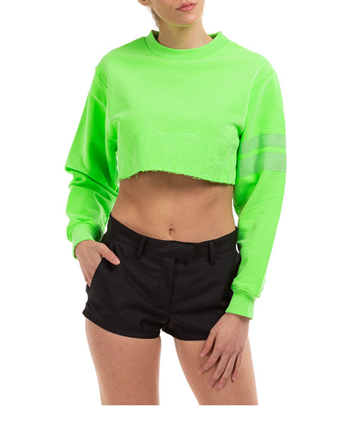 Sweatshirt GCDS cc94w021006-45 verde