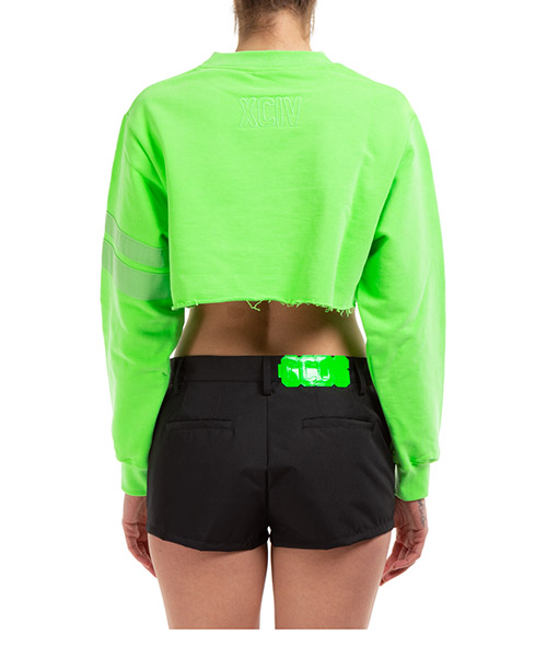 Damen sweatshirt pulli crop secondary image