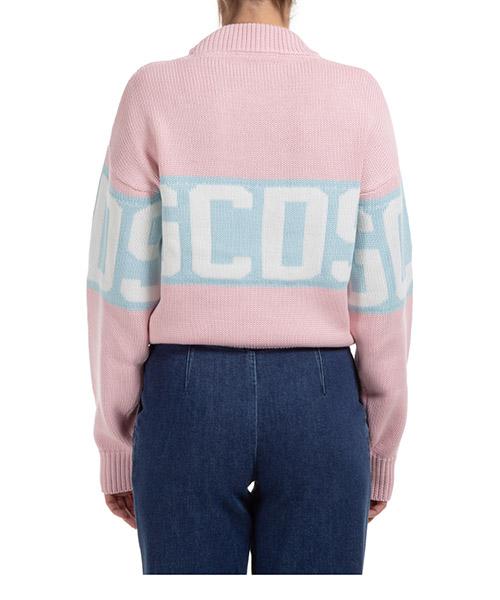 Suéter de cuello redondo sweater de mujer logo band secondary image
