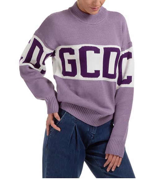 Suéter GCDS logo band CC94W021114-52 lilac