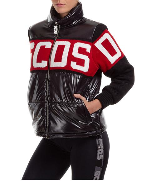Chaquetas de invierno GCDS logo CC94W040200-02 nero