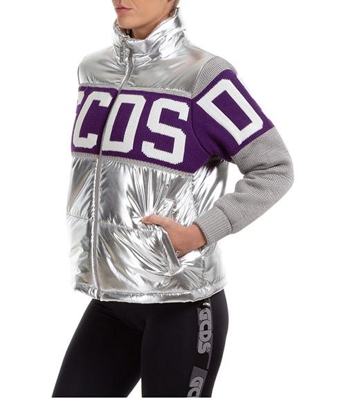 Chaquetas de invierno GCDS logo CC94W040200-17 argento