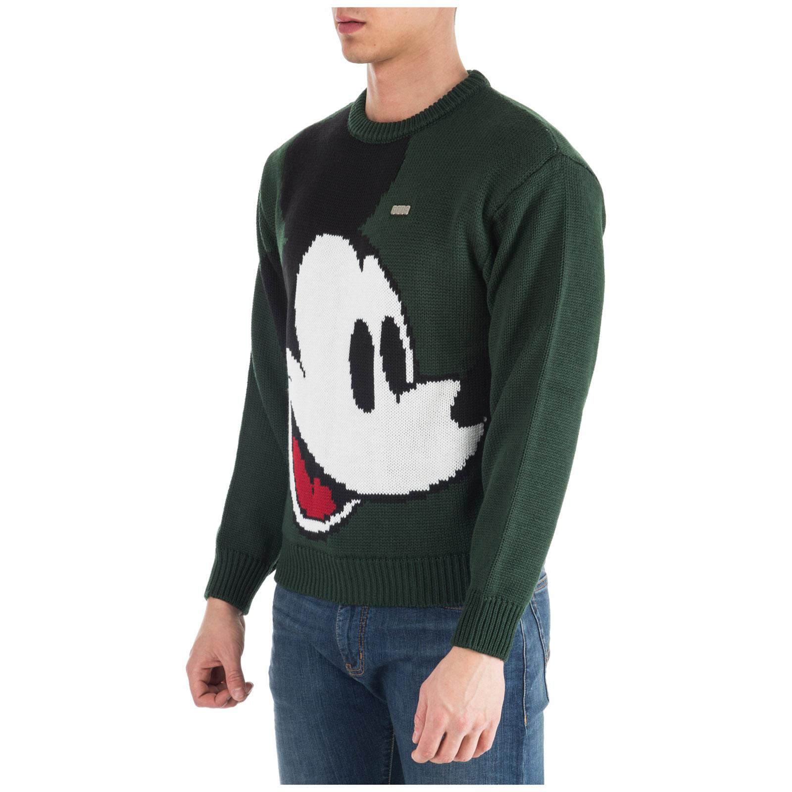 05 Gcds Maglione Mickey Fw19m02dy20 Green Disney Mouse wTqX4pBq
