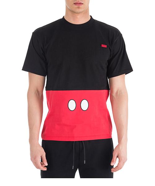 T-shirt GCDS Mickey Tee FW19M02DY07-02 black