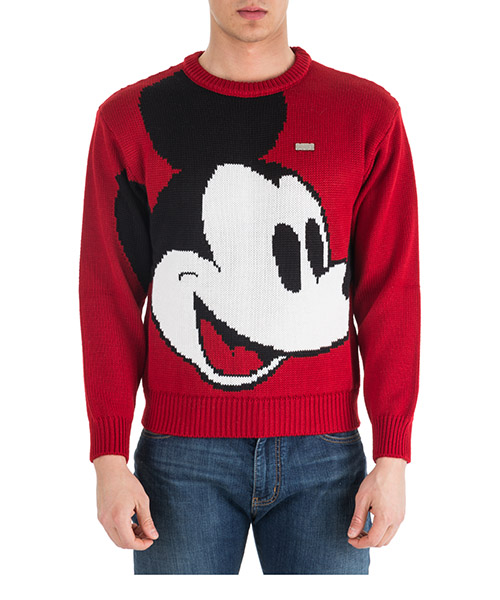 Pull GCDS Disney Mickey Mouse FW19M02DY20-03 red