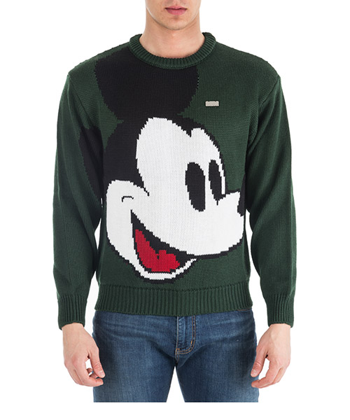 Pull GCDS Disney Mickey Mouse FW19M02DY20-05 green