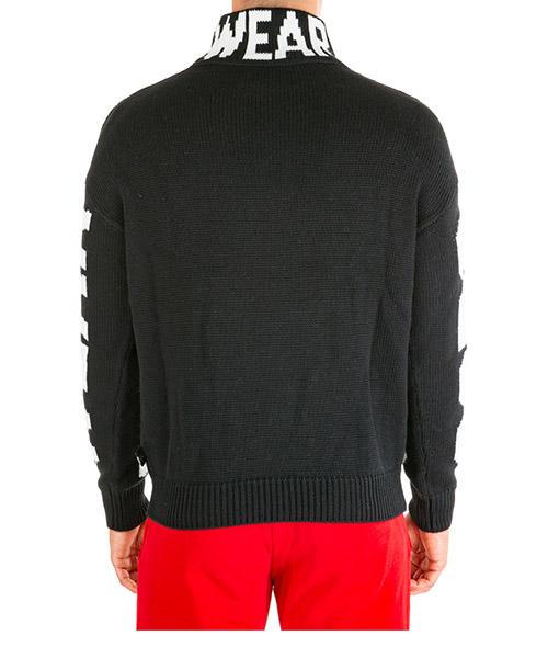 Dolcevita maglione collo alto maglia uomo secondary image
