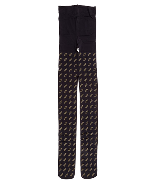 Collants GCDS fw20w010355-02 black