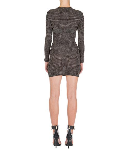 Women's short mini dress long sleeve skin spark secondary image