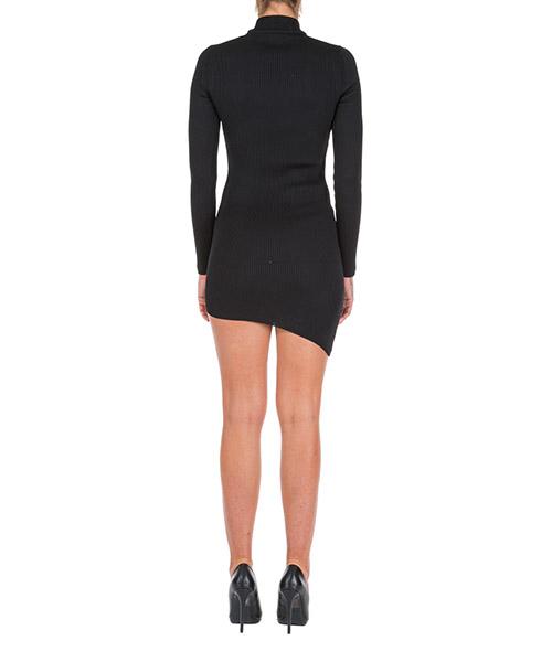 Robe femme courte mini manches longues secondary image
