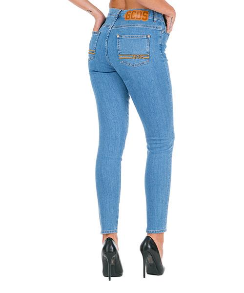 Jeans GCDS FW20W030050-07 azzurro