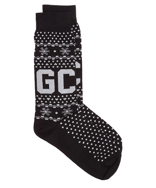 Socken GCDS winter fw21m010076-02 nero