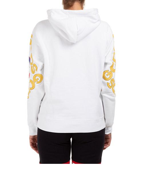 Damen sweatshirt kapuzen kapuzensweatshirt pulli college secondary image