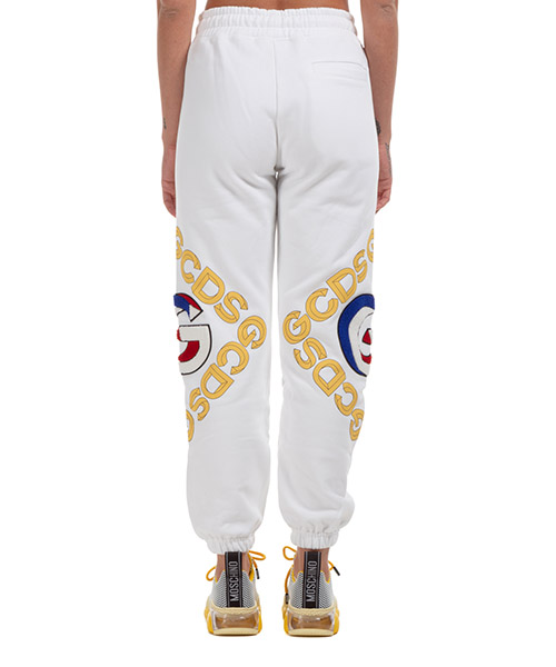 Women's sport tracksuit trousers  logo 3d secondary image