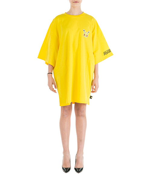 Robe courte  GCDS Pikachu PK19W020008-04 giallo