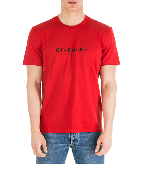 T-shirt Givenchy BM70K93002-620 bright red