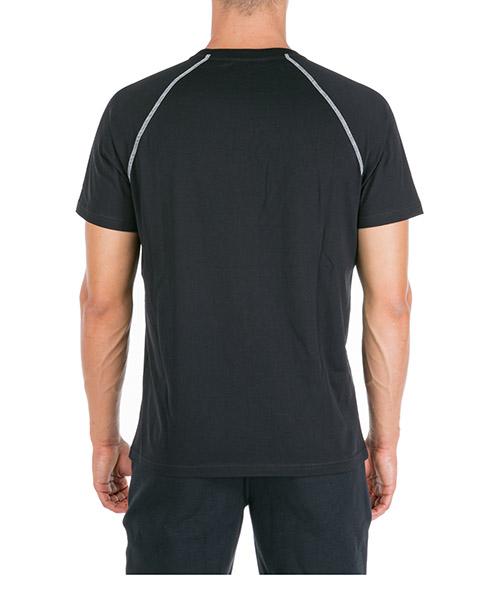Herren t-shirt kurzarm kurzarmshirt runder kragen regular fit secondary image
