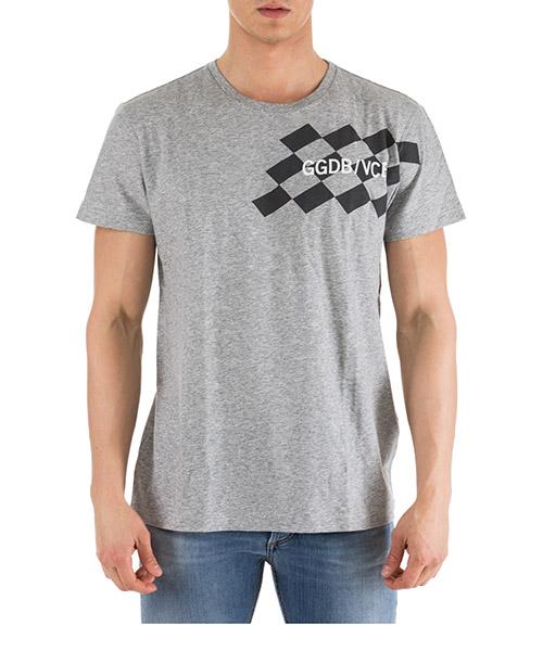 Camiseta Golden Goose Adrian G28MP722.A1 grigio