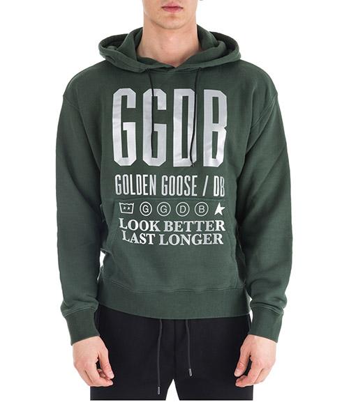 Sweat à capuche Golden Goose Peter G33MP557.A3 pinetree