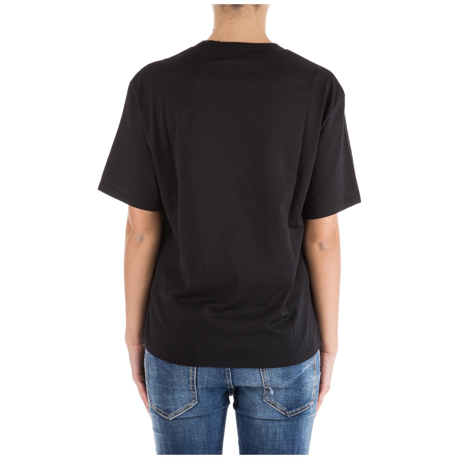 Women's t-shirt short sleeve crew neck round bernina