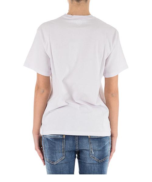 Camiseta de mujer de cuello redondo con mangas cortas golden secondary image