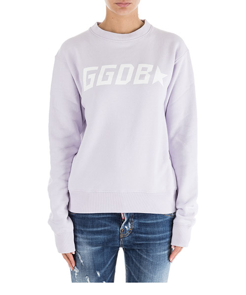 Sweat Golden Goose G34WP029.C1 lilla