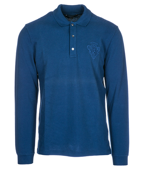 T-shirt manica lunga Gucci 337438X39724564 blu
