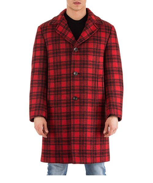 Manteau long homme in lana