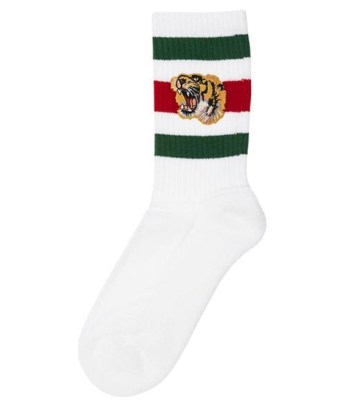 Низкие носки Gucci 450039 4G482 9066 bianco