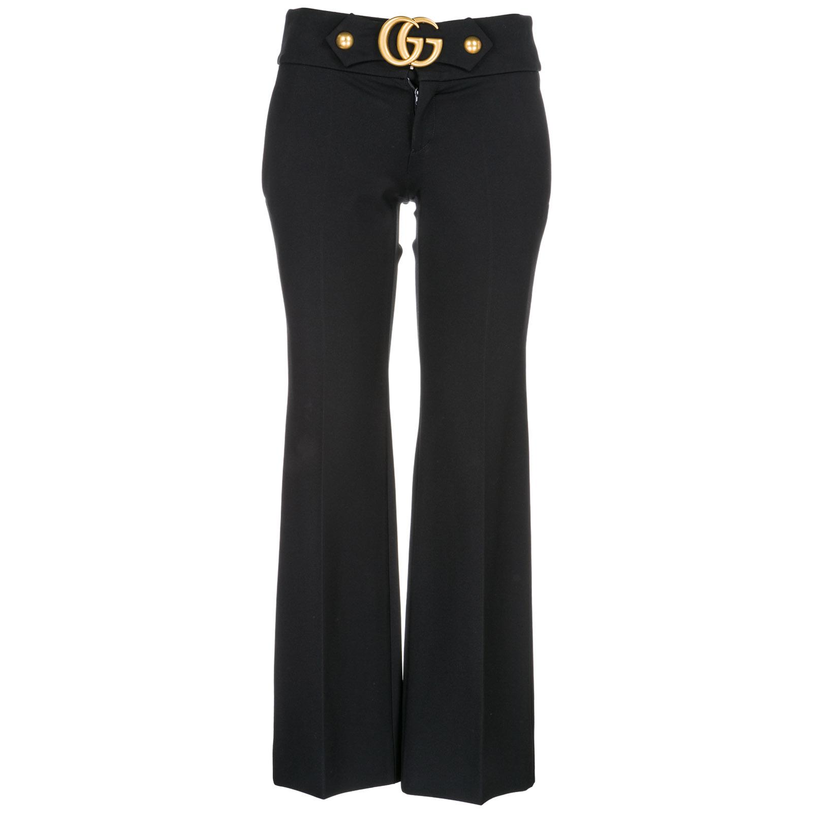Trousers Gucci 462569 ZIJ15 1000 nero  c1034285f0