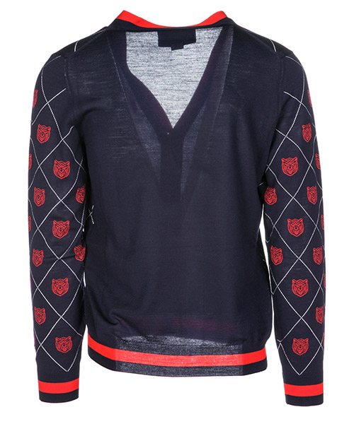 Cardigan pull homme tiger secondary image