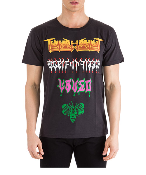 T-shirt Gucci 493117 XJAKE 1142 nero
