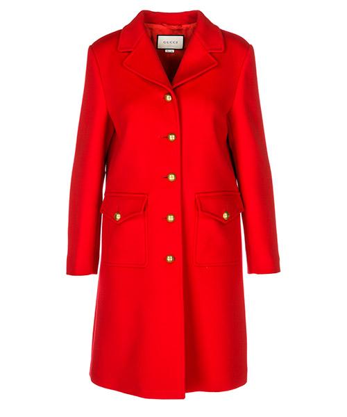 Cappotto Gucci 494500 ZHW03 6562 rosso