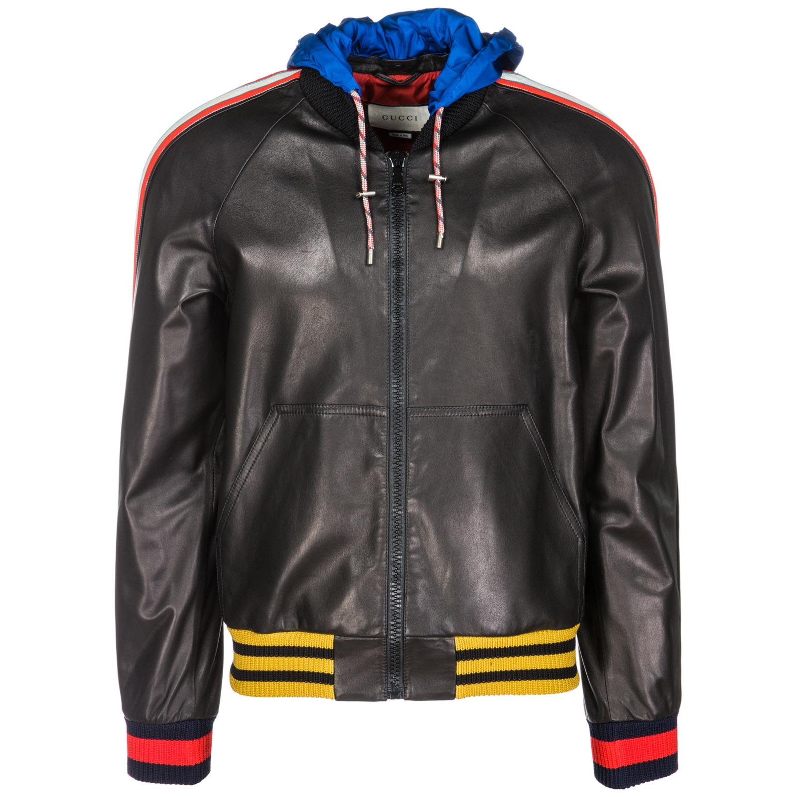 Veste en cuir Gucci 497402XG5261326 nero   FRMODA.com 75a8d7c100e