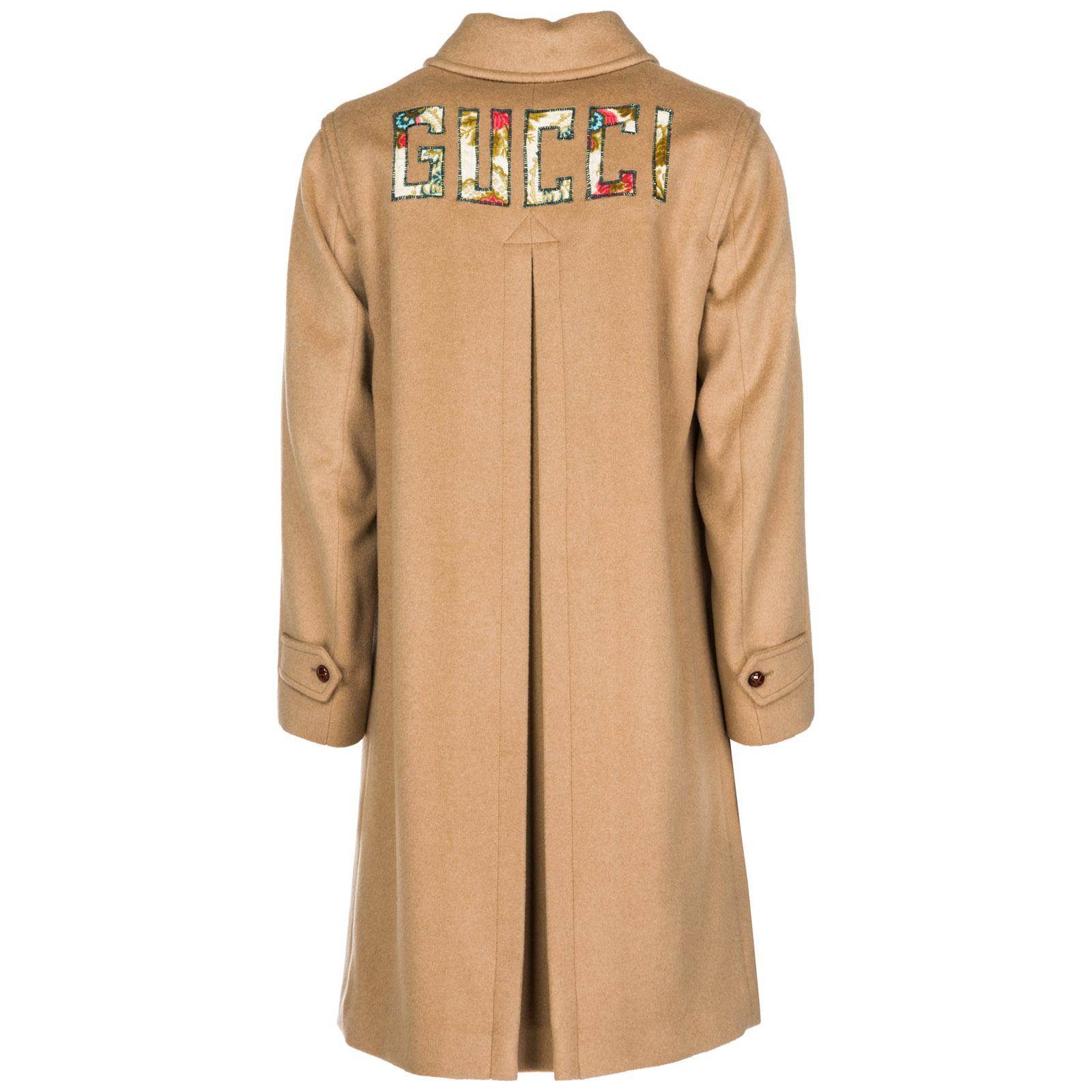 Men's coat overcoat in lana