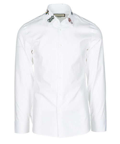 Hemd Gucci 523500Z341L9061 bianco