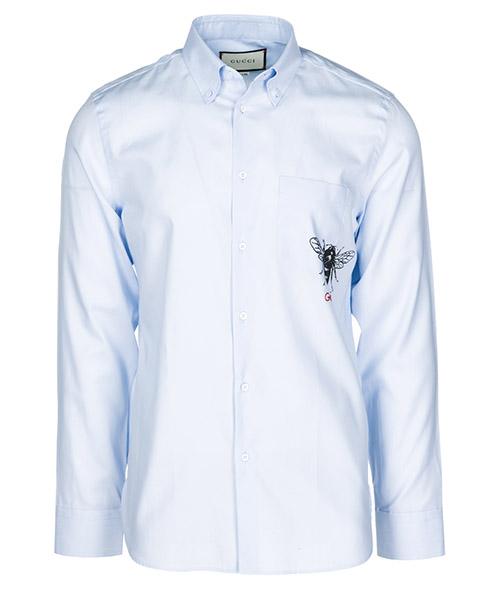 Shirt Gucci 528010Z325L4850 azzurro
