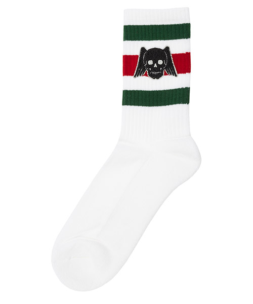 Knee high socks Gucci 553123 4G490 9066 bianco