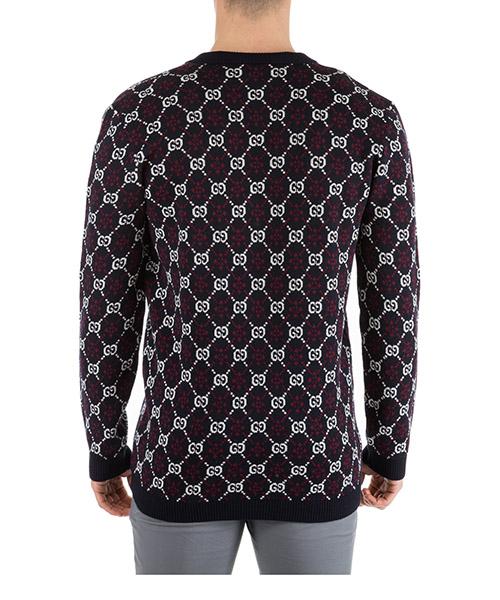 Maglione maglia uomo collo a v gg diamond secondary image
