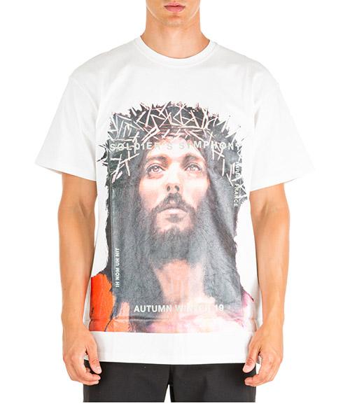 Camiseta Ih Nom Uh Nit Jesus NMW19233 bianco