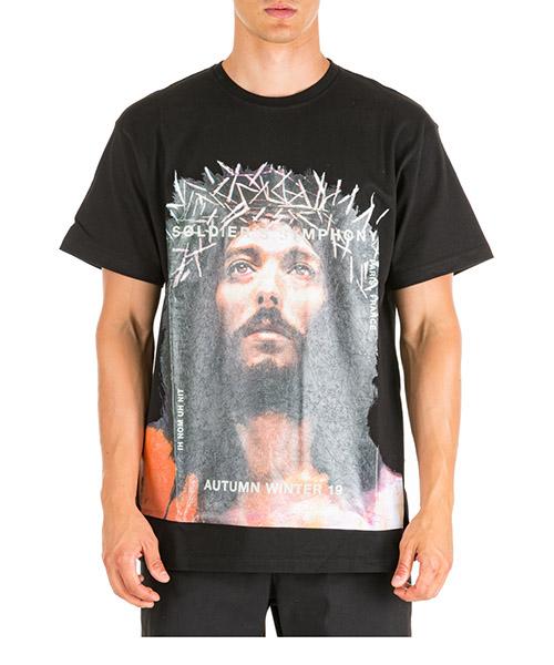 Camiseta Ih Nom Uh Nit Jesus NMW19233 nero