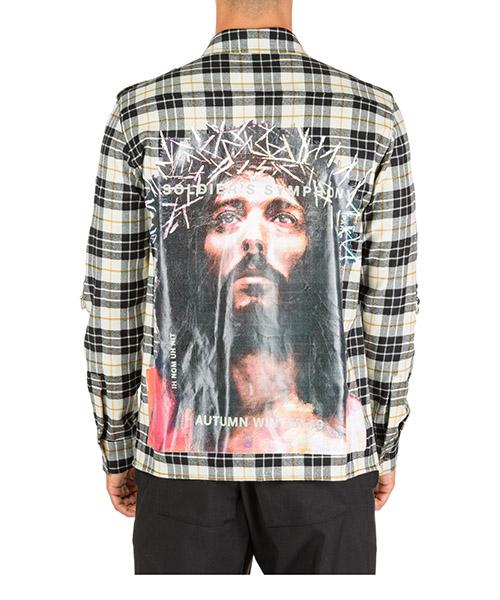 Mужская рубашка с длинным рукавом jesus