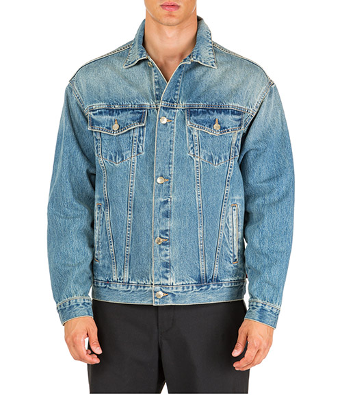 Men's denim outerwear jacket blouson jesus secondary image