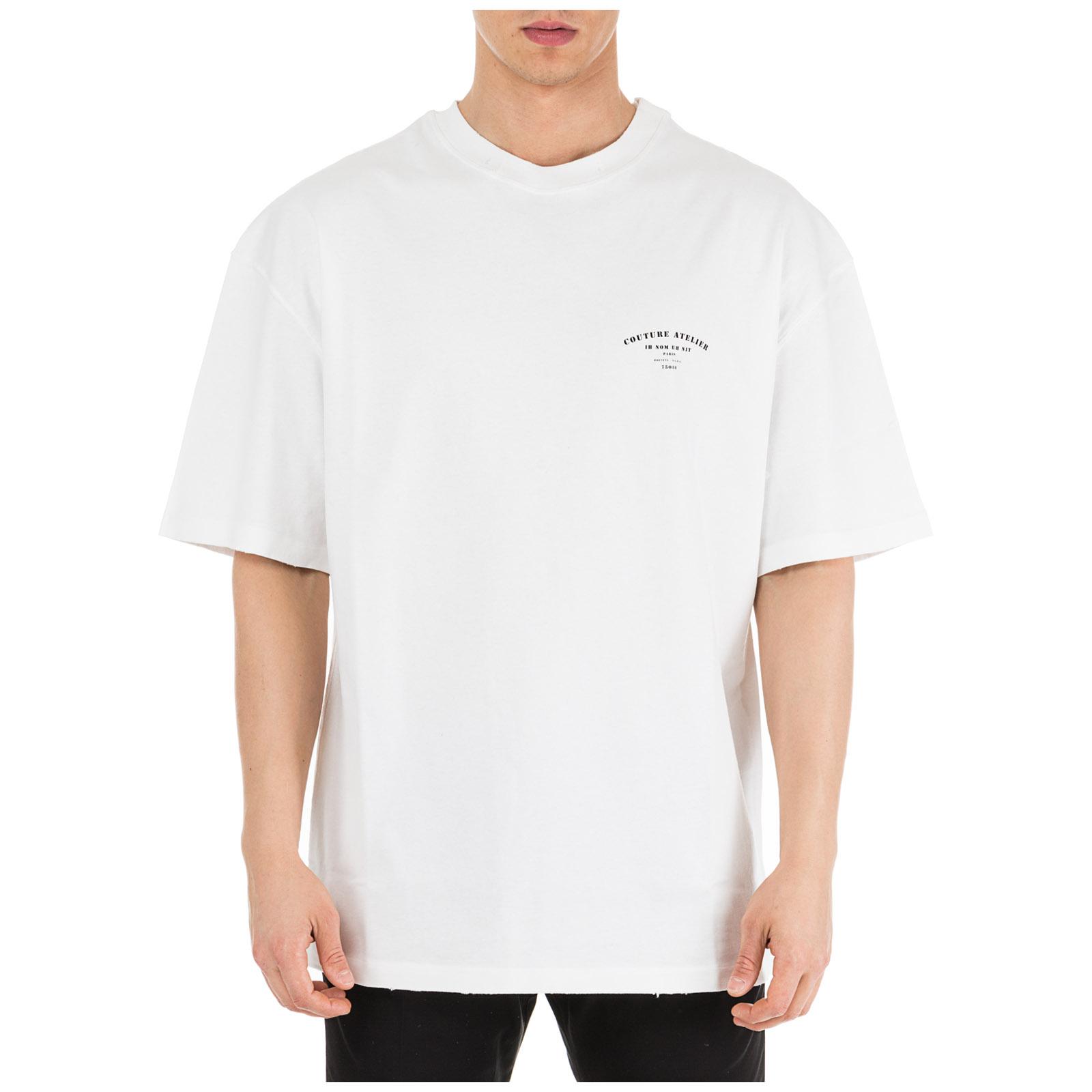 ac853d3a Men's short sleeve t-shirt crew neckline jumper couture atelier